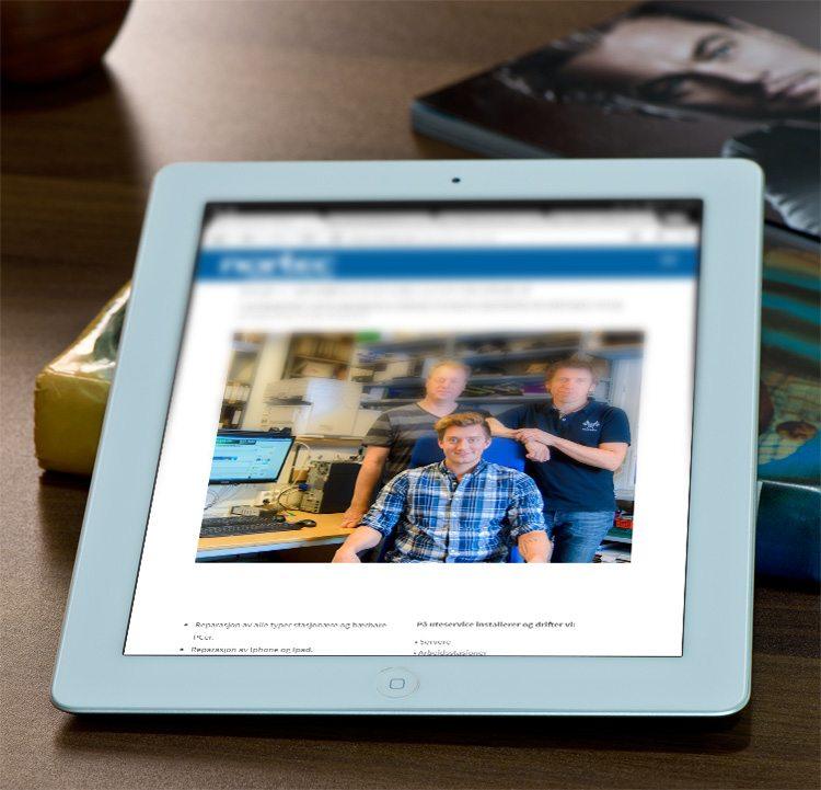 Mobilvennlig nettside for Nortec.no/stjordal