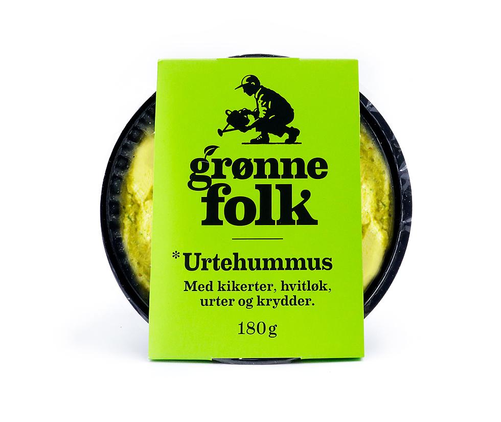 Urtehummus fra Grønne Folk